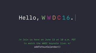 WWDC 2016: Eröffnungs-Keynote wieder als Live-Stream
