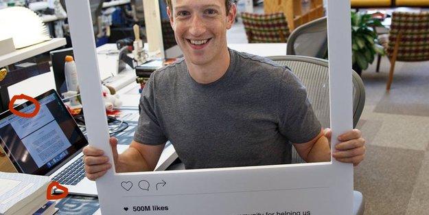 Mark Zuckerberg klebt MacBook-Kamera und -Mikrofon ab