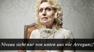 Arrogante Sprüche: Humorvoll überlegen sein