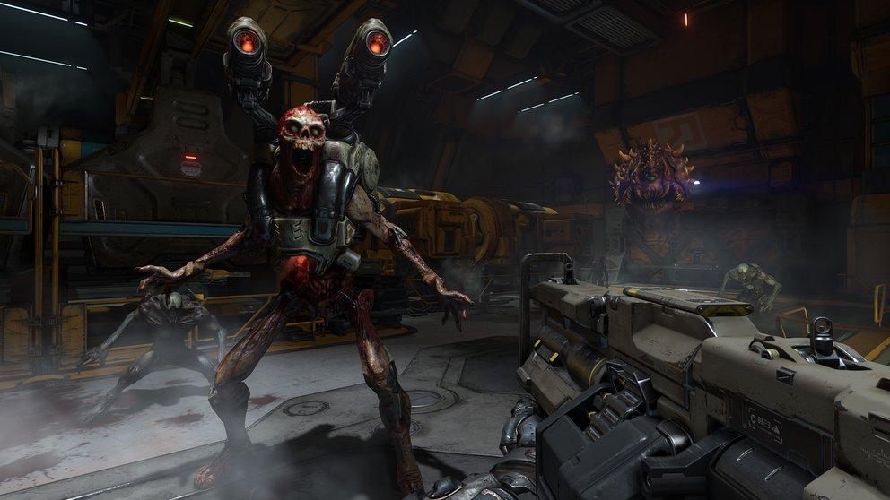 Doom zeigt, dass es mit dem Fortschritt auch klappen kann, wenn man einen Schritt zurück macht.