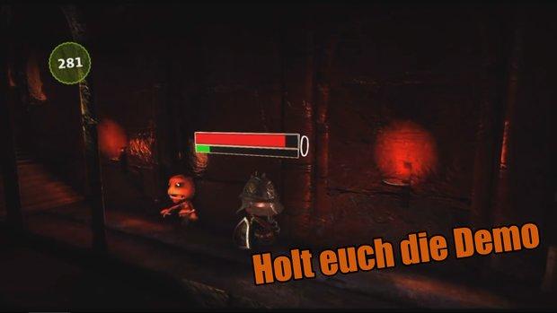 LittleBigPlanet 3: Spieler baut Dark Souls-Startgebiet Undead Asylum nach