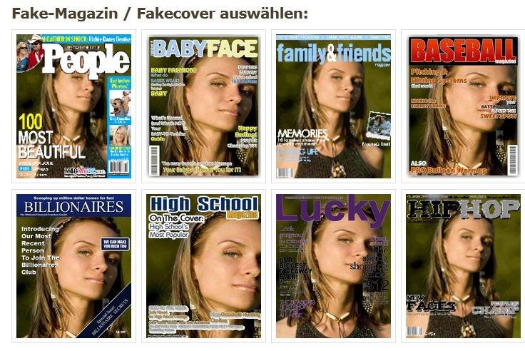 Im Internet findet ihr zahlreiche Fake-Bild-Generatoren, mit denen ihr