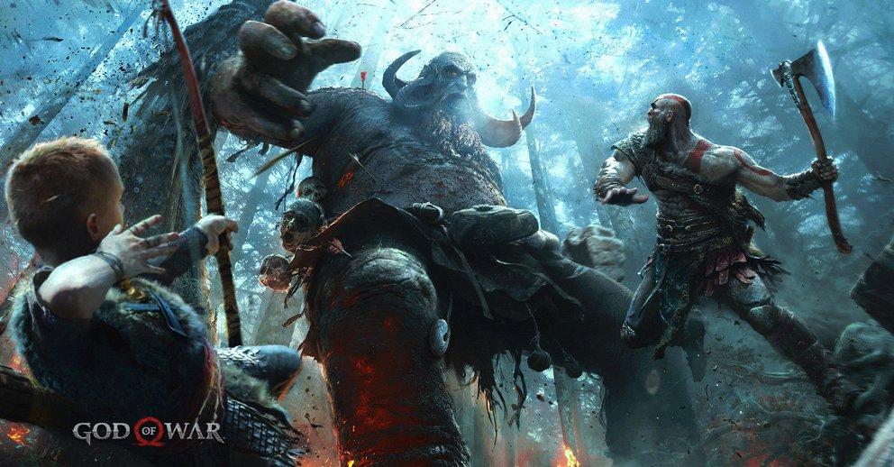 Auch Dämonen verhackstückt der griesgrämige Kriegsgott noch, allerdings scheint davon abgesehen dessen Verhältnis zu seinem Sohn eine wichtige Rolle zu spielen.