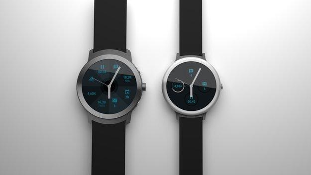 Renderbild verrät: So futuristisch sehen Googles Nexus-Smartwatches aus