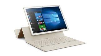Huawei MateBook: Dünnes Windows-10-Tablet feiert Marktstart in Deutschland