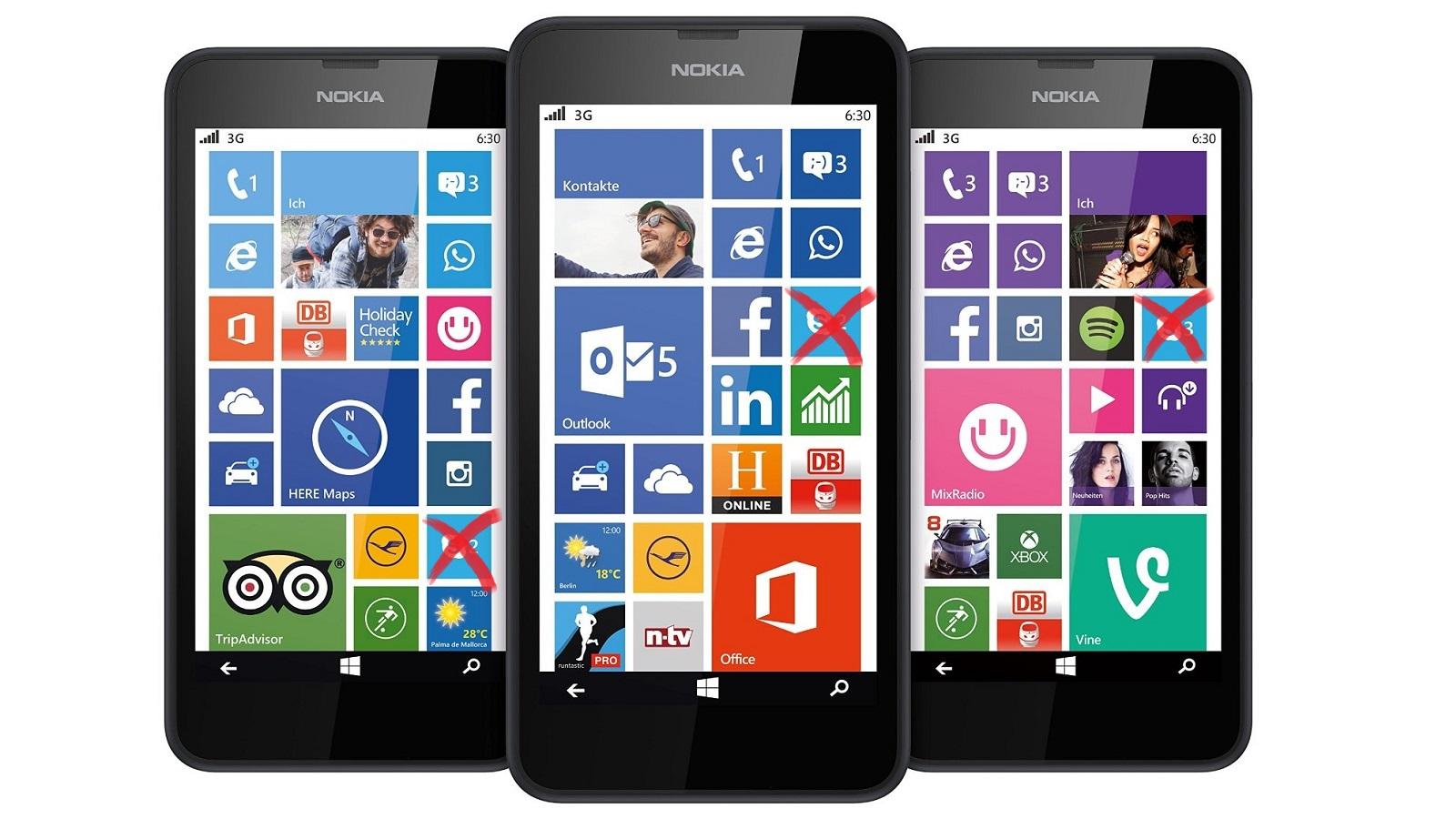 Windows Phone Eingestellt