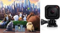"""Zum kommenden Kinostart von """"PETS"""": Gewinnt eine GoPro HERO-Kamera und viele Goodies"""