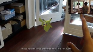 Pokémon GO auf der Microsoft HoloLens im Video demonstriert (Update)