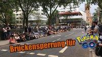 Pokémon GO: Düsseldorfer Bürgermeister sperrt Brücke für Spieler