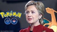 Hillary Clinton: Präsidentschaftskandidatin und Pokémon-Arenaleiterin