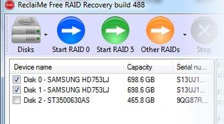 ReclaiMe Free RAID Recovery