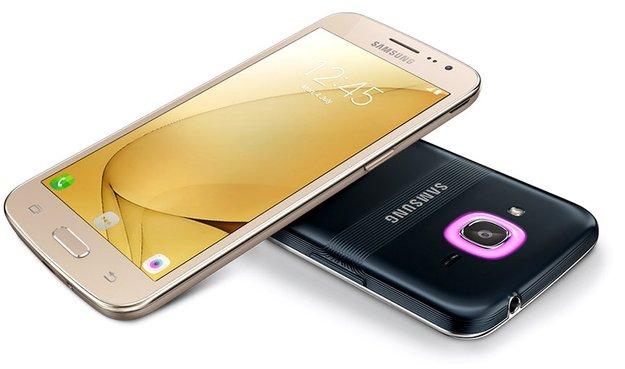 Samsung Galaxy J2 (2016): Erstes Smartphone mit Smart Glow offiziell vorgestellt