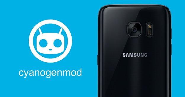 CyanogenMod für Samsung Galaxy S7 edge: Erster Erfolg