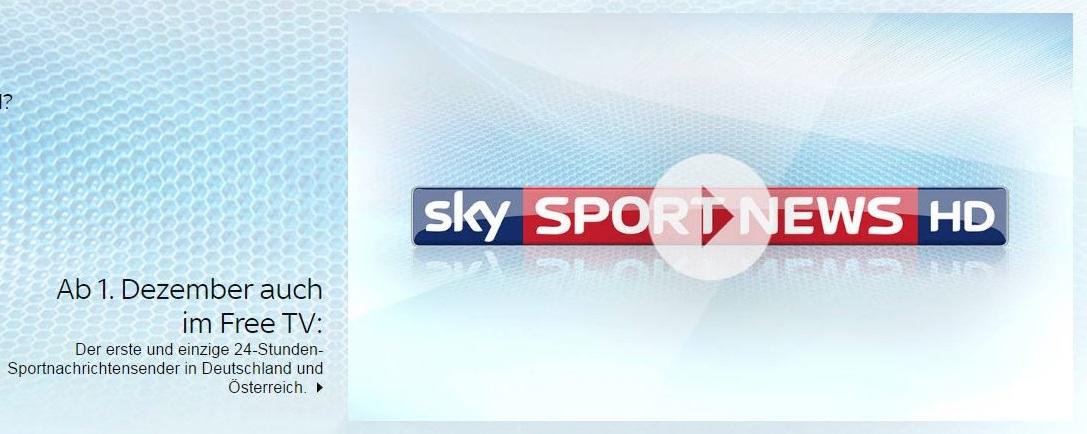 Heute sky sport news im free tv empfangen so schaltet for Sky sports 2 hd live streaming online free