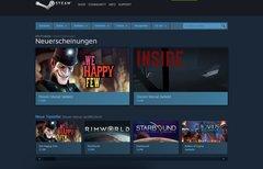 Steam: Neue Shop-Seite listet...