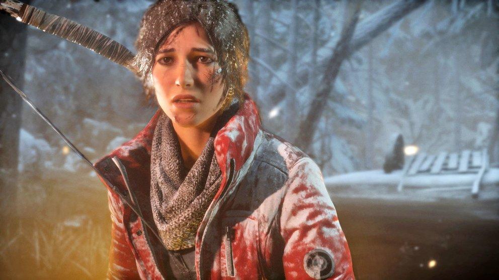 Das Gesicht des Wandels – Lara Croft ähnelt mittlerweile weit mehr einer echten Frau als einer Pubertätsfantasie.