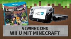 Jetzt absahnen: Wir verlosen eine Wii U mit Minecraft!