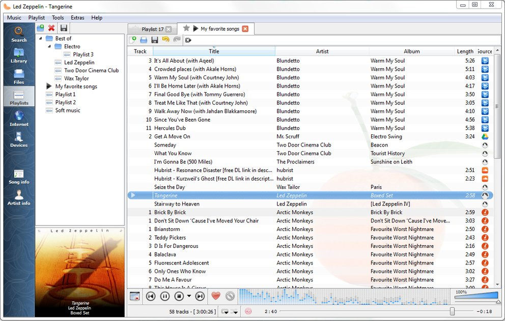 Winamp Alternative Clementine