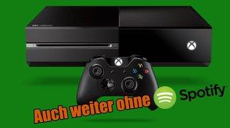 Xbox One: Auch in Zukunft weiter ohne Spotify