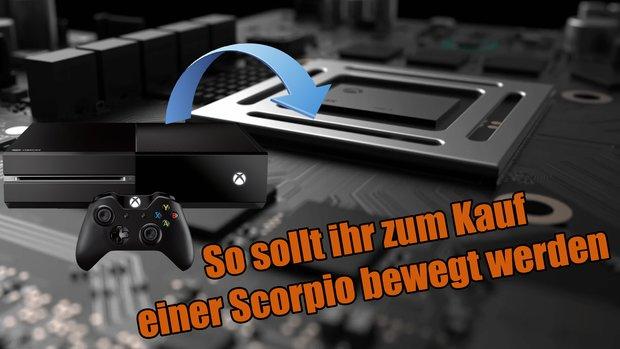 Xbox One Scorpio: Microsoft will Eintauschprogramm anbieten