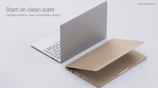 Xiaomi Mi Notebook Air vorgestellt: MacBook-Air-Klon, aber nur halb so teuer