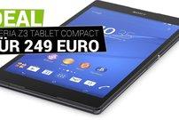 Schnäppchen-Tipp: Sony Xperia Z3 Tablet Compact mit 32 GB Speicher für 249 Euro