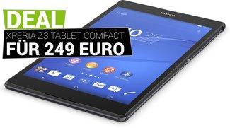 Kracher: Sony Xperia Z3 Tablet Compact mit 32 GB für 249 Euro