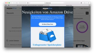 Amazon Drive mit unbegrenztem Speicherplatz, Mitglieder werden verprellt