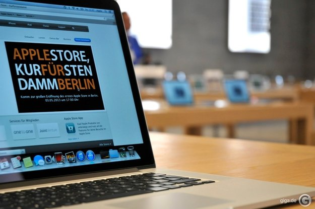 Quecksilber-Alarm im Berliner Apple Store