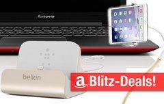 Blitzangebote:<b> iPad-Schwanenhals-Halterung, Lenovo Tablet und Touch-Notebook, Belkin iPhone-Dock, Wacom Intuos u.v.m.</b></b>
