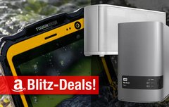 Blitzangebote:<b> AirPlay-Lautsprecher, 12 TB Desktop RAID, Outdoor-Tablet u.v.m. heute zum Bestpreis</b></b>