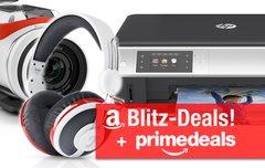 Blitzangebote und Prime Deals:<b> BT-Lautsprecher, Kopfhörer, TomTom 4K ActionCam, AirPrint-Drucker u.v.m. günstiger</b></b>