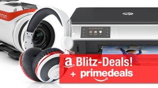 Blitzangebote und Prime Deals: BT-Lautsprecher, Kopfhörer, TomTom 4K ActionCam, AirPrint-Drucker u.v.m. günstiger