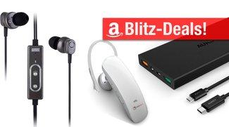 Amazon-Blitzangebote mit viel Smartphone-Zubehör: Akku-Case, Video-Lampe, Noise-Cancelling-Hörer