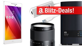 Blitzangebote heute: Asus-Tablet, USB-Hub, Bluetooth-Kopfhörer, My Cloud