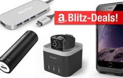 Amazon Blitzangebote heute mit Powerbanks bis 28000 mAh, Smartphone-Fahrradhalterung und mehr</b>