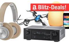Blitz- und Tagesangebote:<b> Philips Hue, B&O-Kopfhörer, 7.1 AirPlay-Receiver und Drohne heute günstiger </b></b>