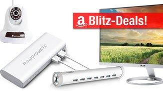 Blitzangebote: 12-TB-Festplatte, 16000mAh Powerbank, USB-C-Hub, IPS-Monitor, Bluetooth-Kopfhörer heute günstiger