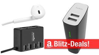 Blitzangebote: günstiger Zusatzakku mit 10.400 mAh, USB-Ladegeräte für Reise und Zuhause, USB-Hub für iMac