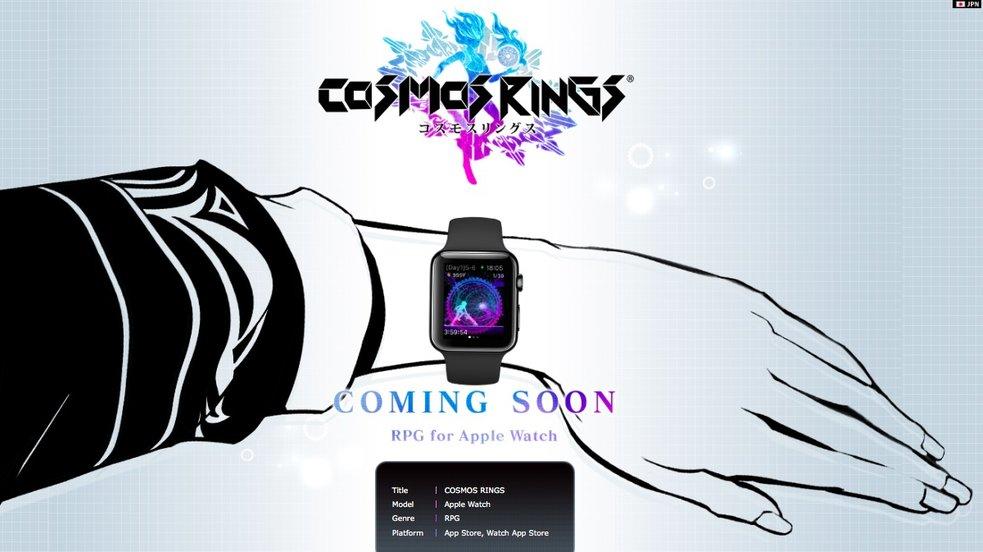 """Cosmos Rings"": Square Enix kündigt Apple-Watch-Rollenspiel an"