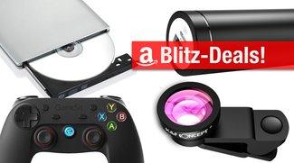 Blitzangebote: günstiger Zusatzakku, Objektivaufsatz, Notebooks, DVD-Brenner, Reinigungstuch