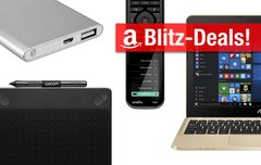 Blitzangebote:<b> Wacom-Tablet, günstiges Asus-Notebook, Logitech-Universalfernbedienung u.v.m. heute günstiger</b></b>