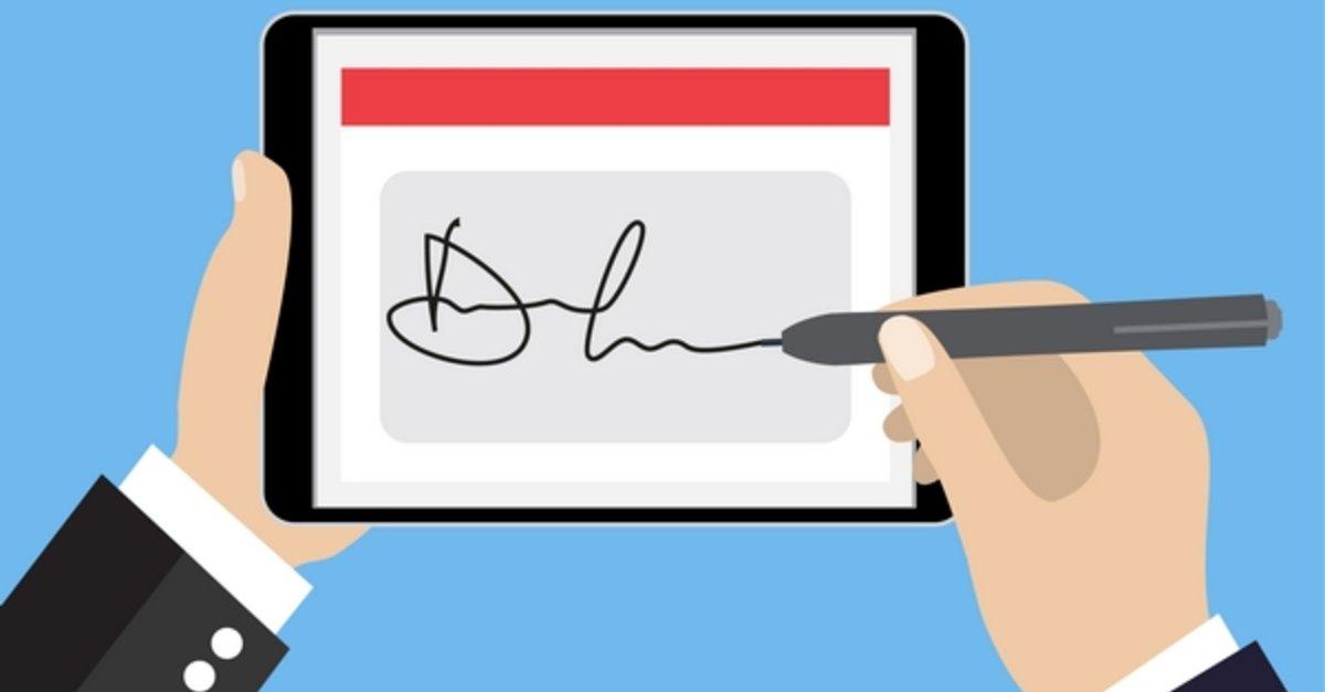 Digitale unterschrift so erstellt ihr eine elektronische signatur giga - Digitale weihnachtskarten kostenlos ...