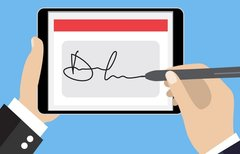 Digitale Unterschrift: So...