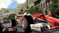 F1 2016: Multiplayer mit 22 Spielern, Einführungsrunde und manueller Start