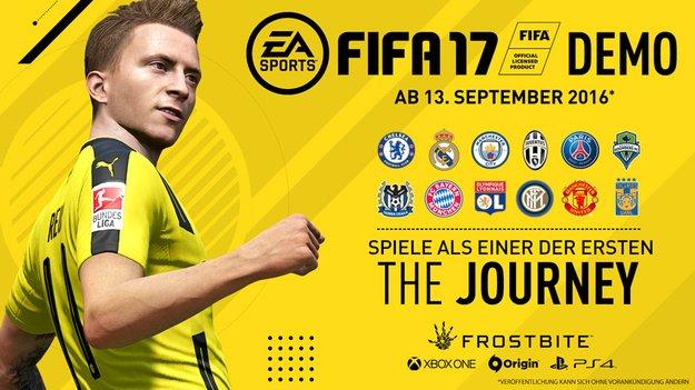 FIFA 17 Demo: Infos bestätigt - Das erwartet euch vor dem Release