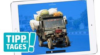 Fotomontage: Objekte auf iPhone und iPad freistellen, so gehts