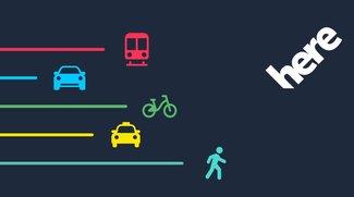 Here WeGo 2.0: Kostenlose Navi-App mit neuem Namen, Outfit, Verkehrsmitteln