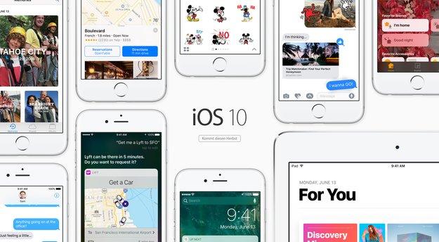 Beta 2 von iOS 10, macOS Sierra, watchOS 3 und tvOS 10 verfügbar (Update)