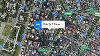 iOS 10 : Öffentliche Verkehrsmittel für Japan verfügbar